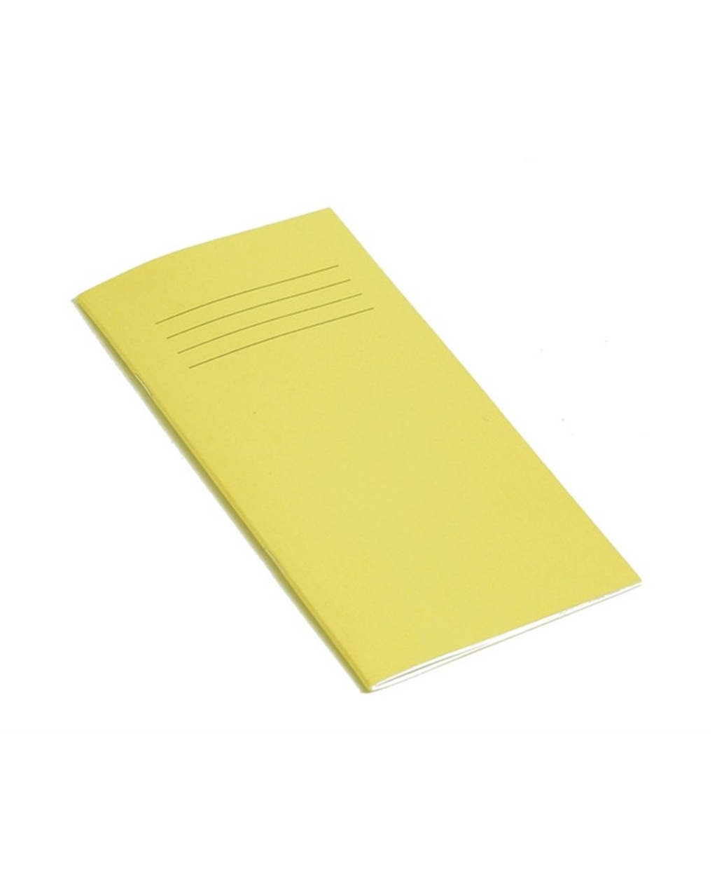 Exercise Book 8 x 4 (203 x 102mm) Yellow Cover 8mm Ruled 32 Pages