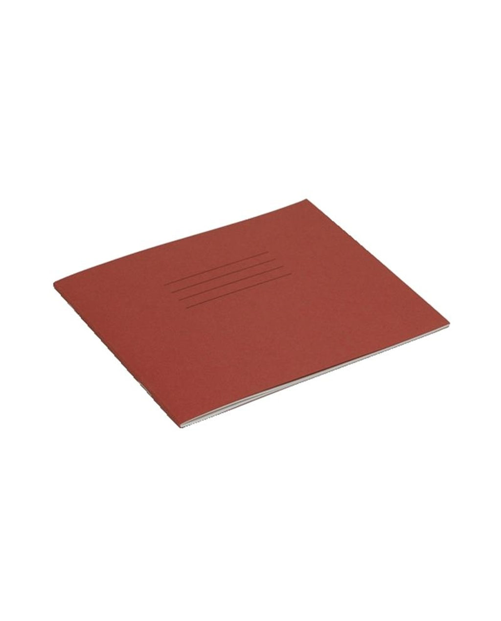 Exercise Book 5.25 x 6.5 (133 x 165mm) Red Cover 11mm Ruled 24 Pages