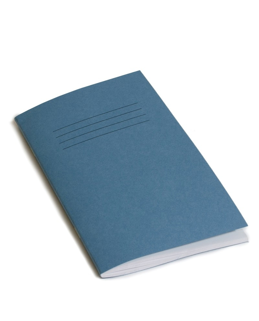 Exercise Book 6.5 x 4 (165 x 102mm) Blue Cover 7mm Ruled 48 Pages