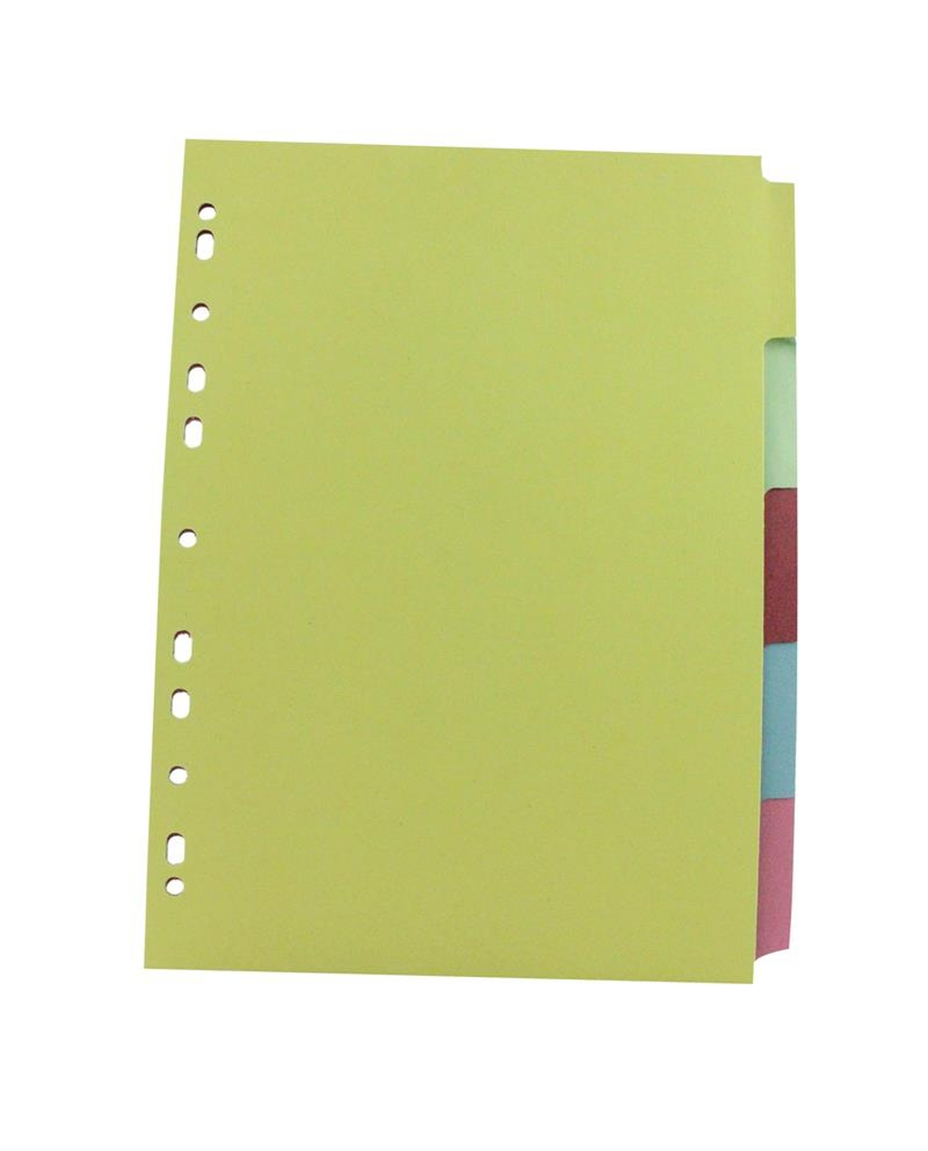 A4 Dividers - 5 Part