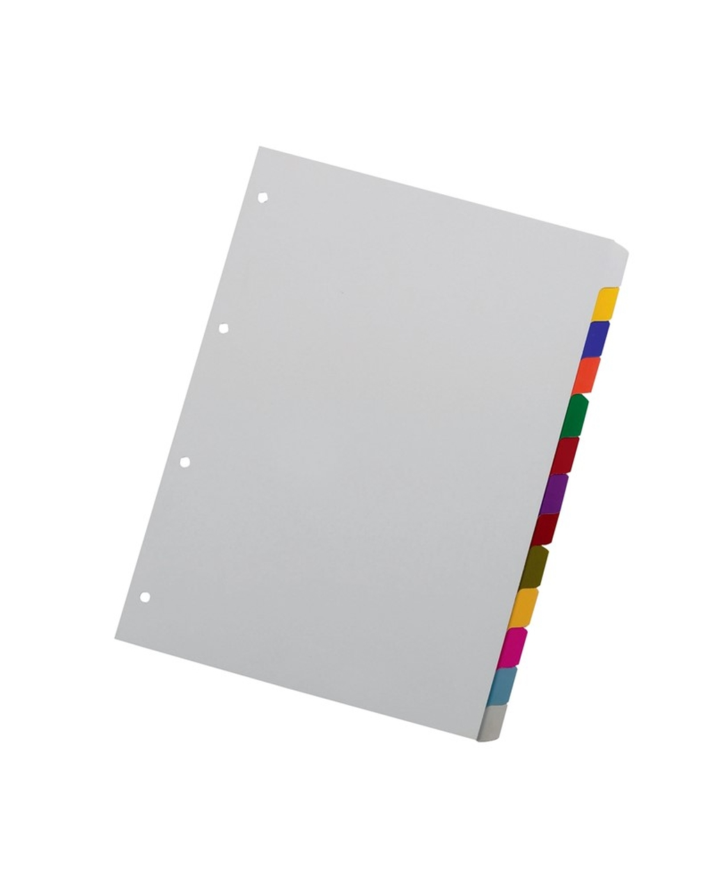 A4 Dividers - 13 Part