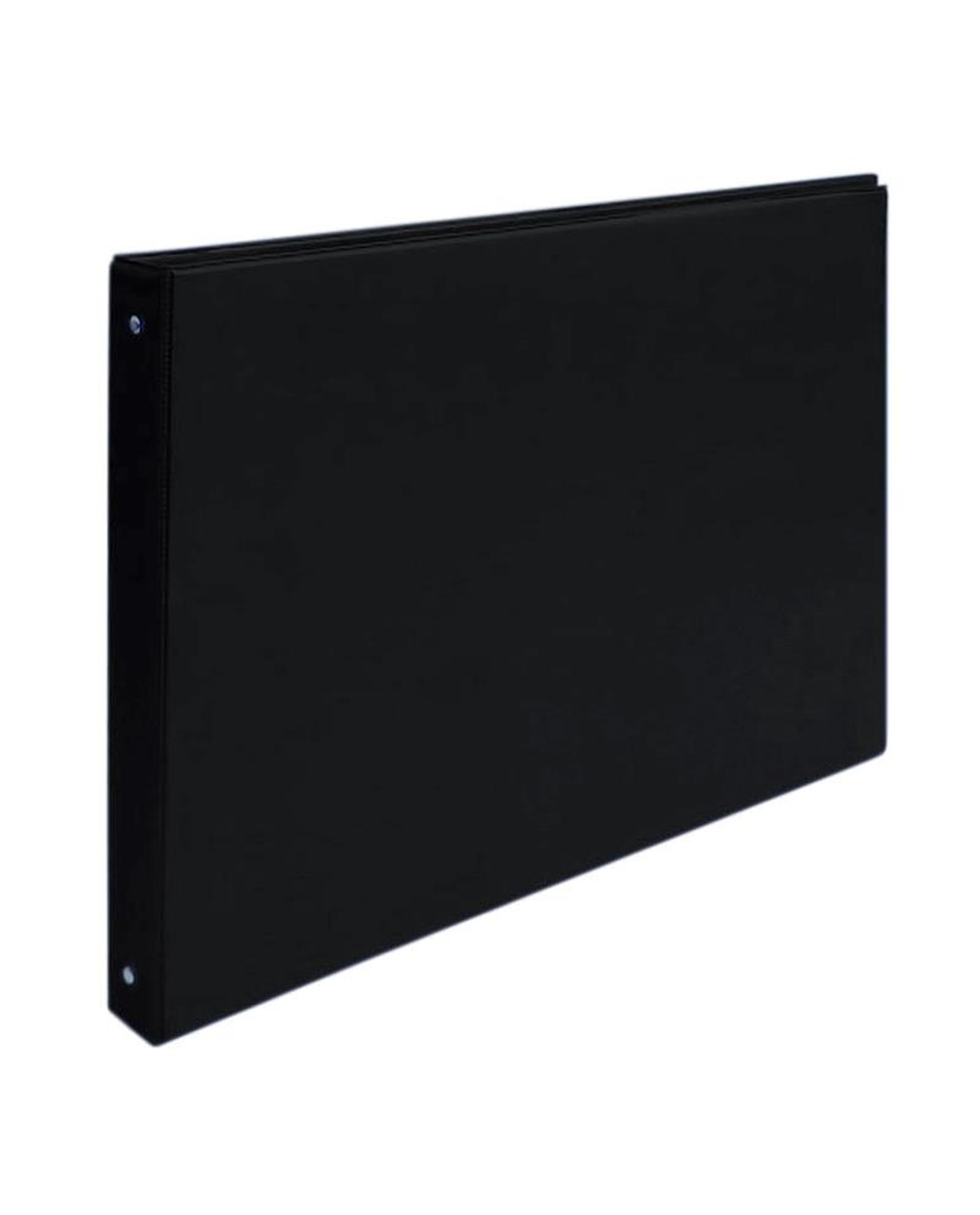 A3 4 Ring Landscape Binder - Black