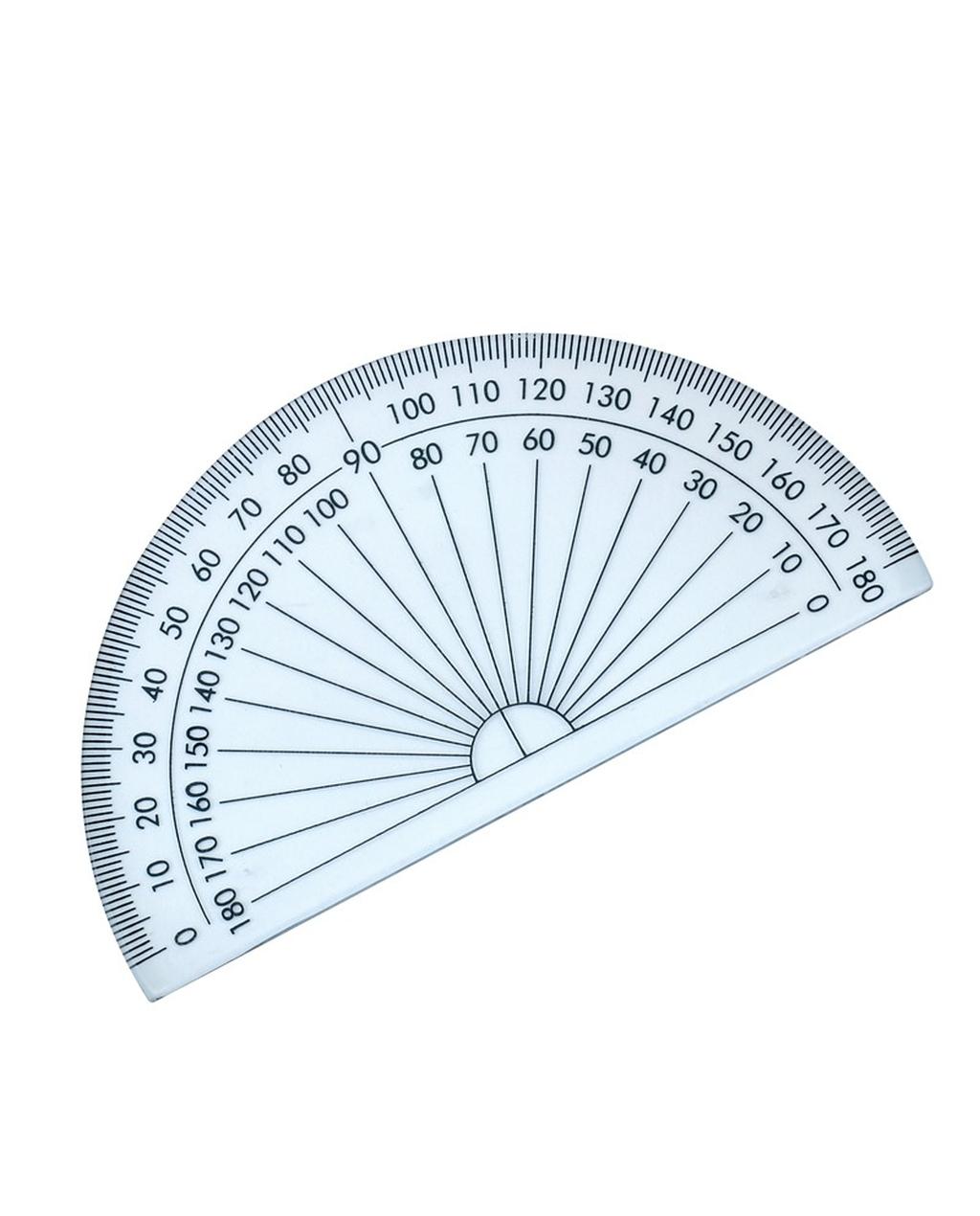 100mm Semi-Circular Protractor