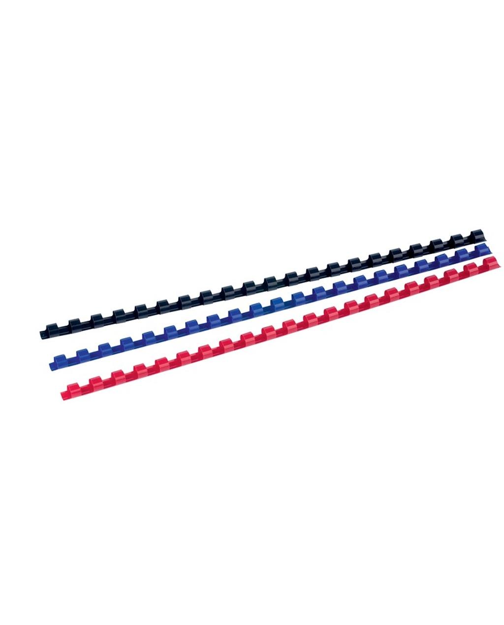 A4, 8mm Black Plastic Combs