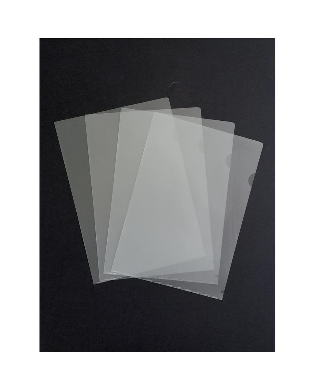 A4 Clear Cut Flush Folders