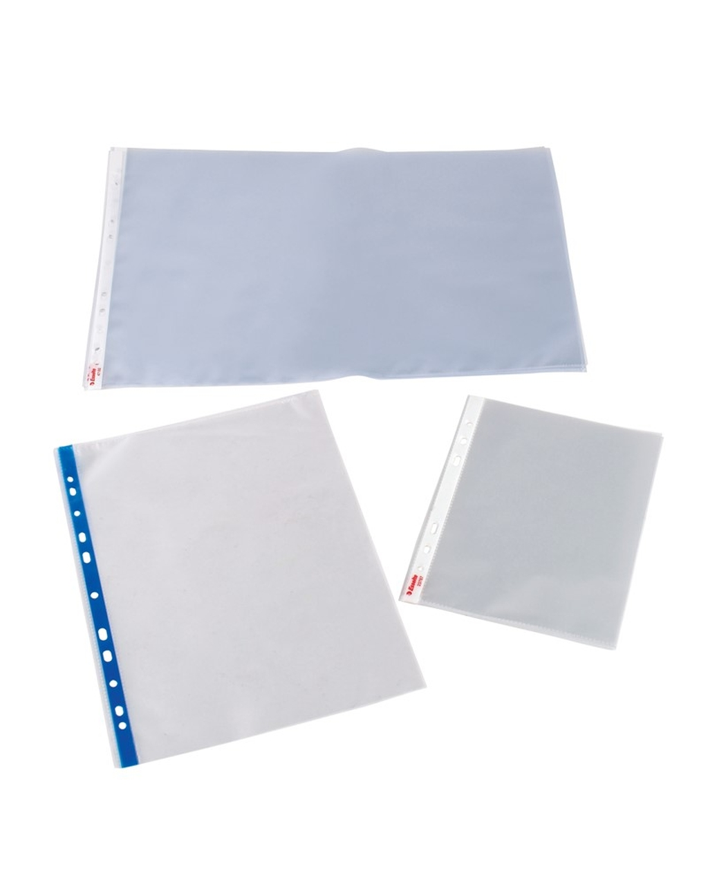 A3 Landscape Plastic Punched Pockets