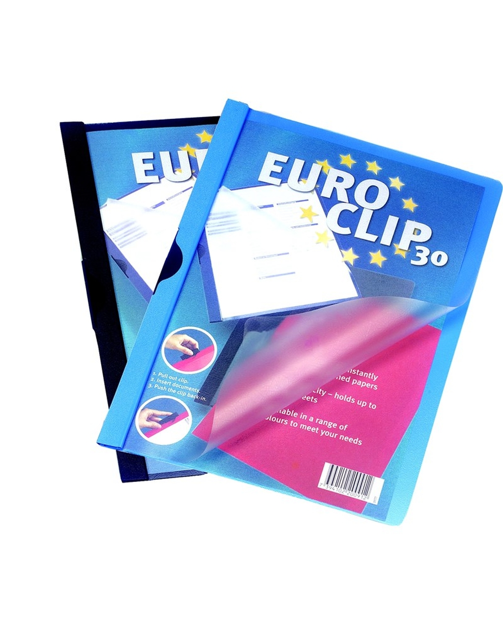 A4 Euroclip Presentation File - 3mm/30 Sheets