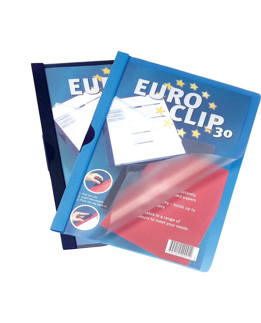 A4 Euroclip Presentation File - 6mm/60 Sheet