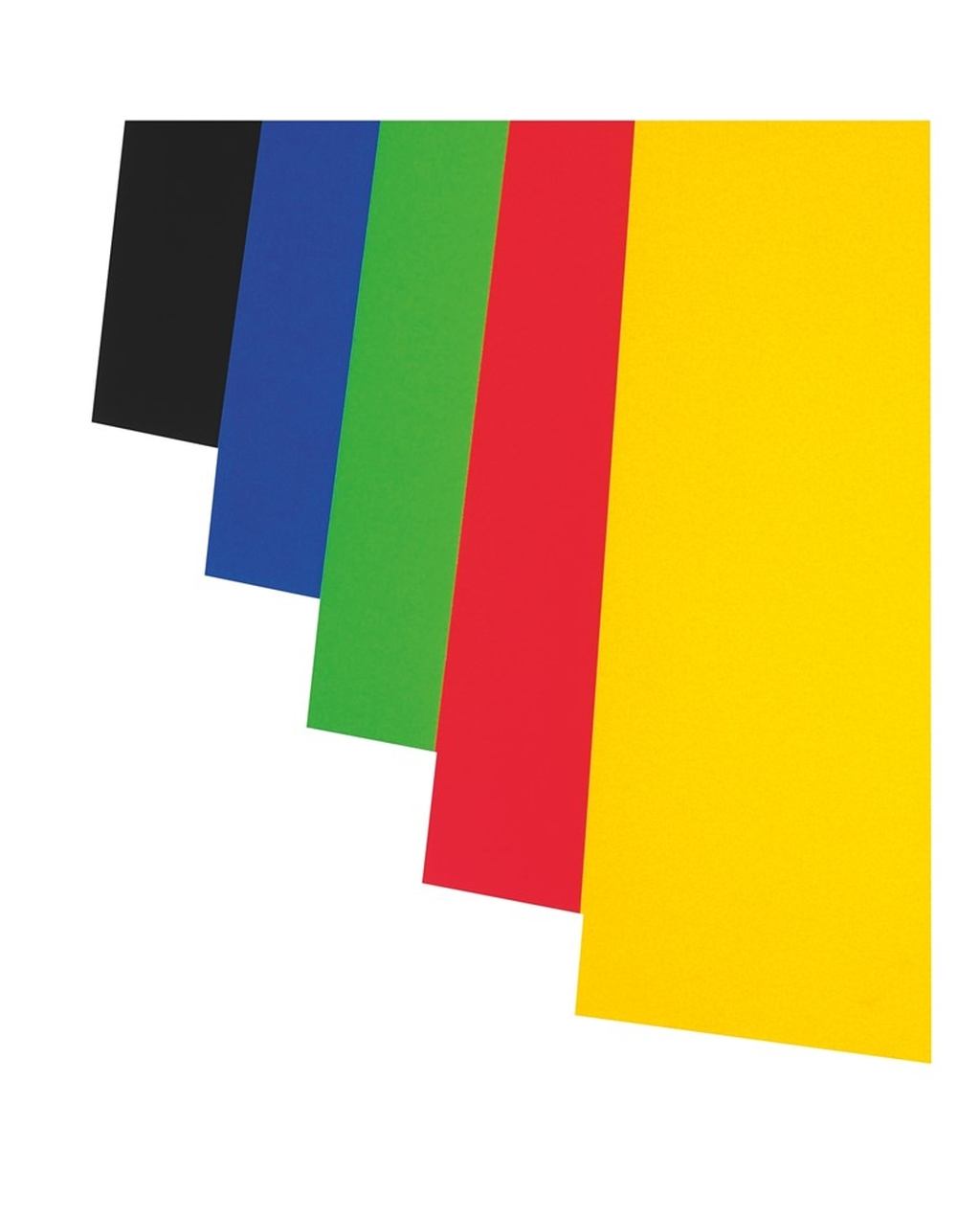 A1 Colour Card - Black 330 Micron