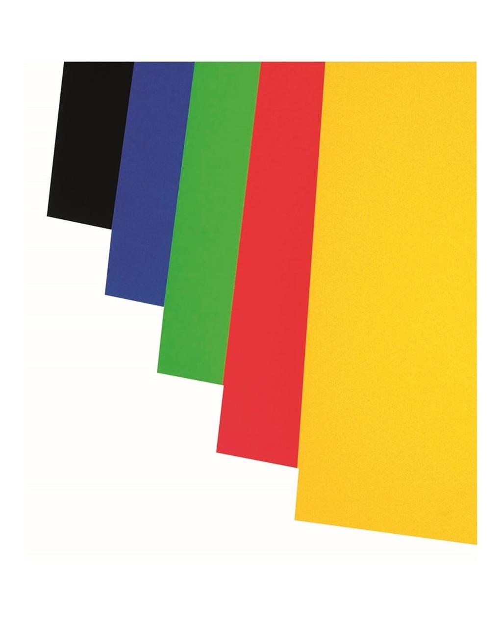 A1 Colour Card - Mid Blue 330 Micron
