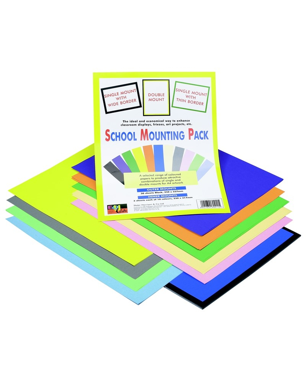 A4+ Mounting Pack of Papers 85gsm