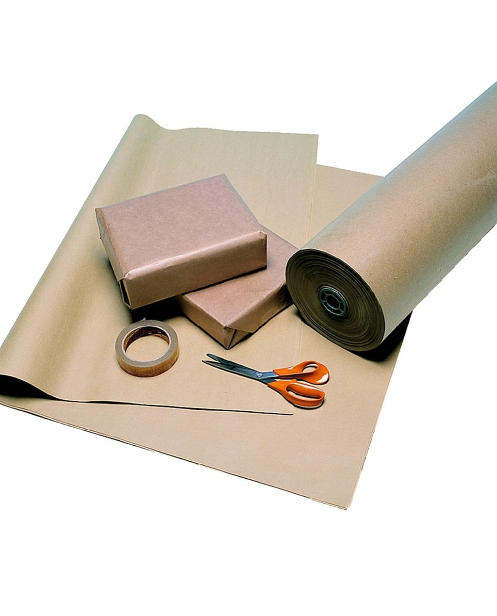 Brown Wrapping Paper 900mm x 2.28m 88gsm