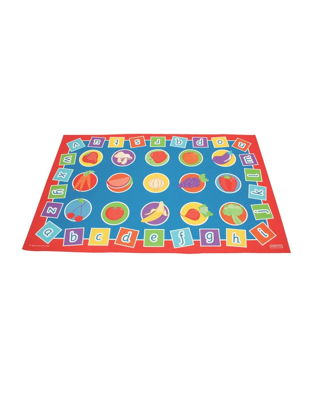 Alphabet & Healthy Eating Mat