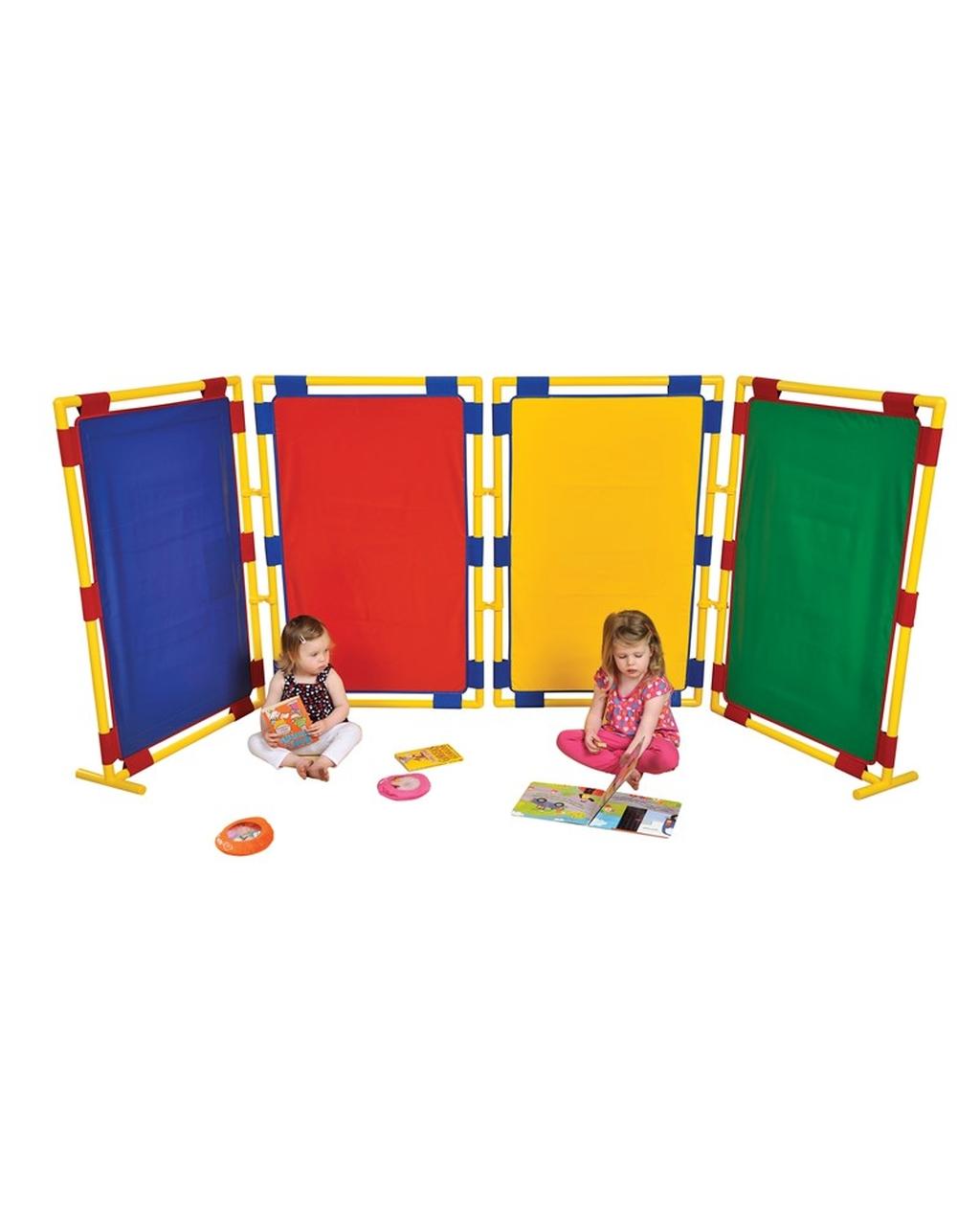 4 Coloured Panels - Large