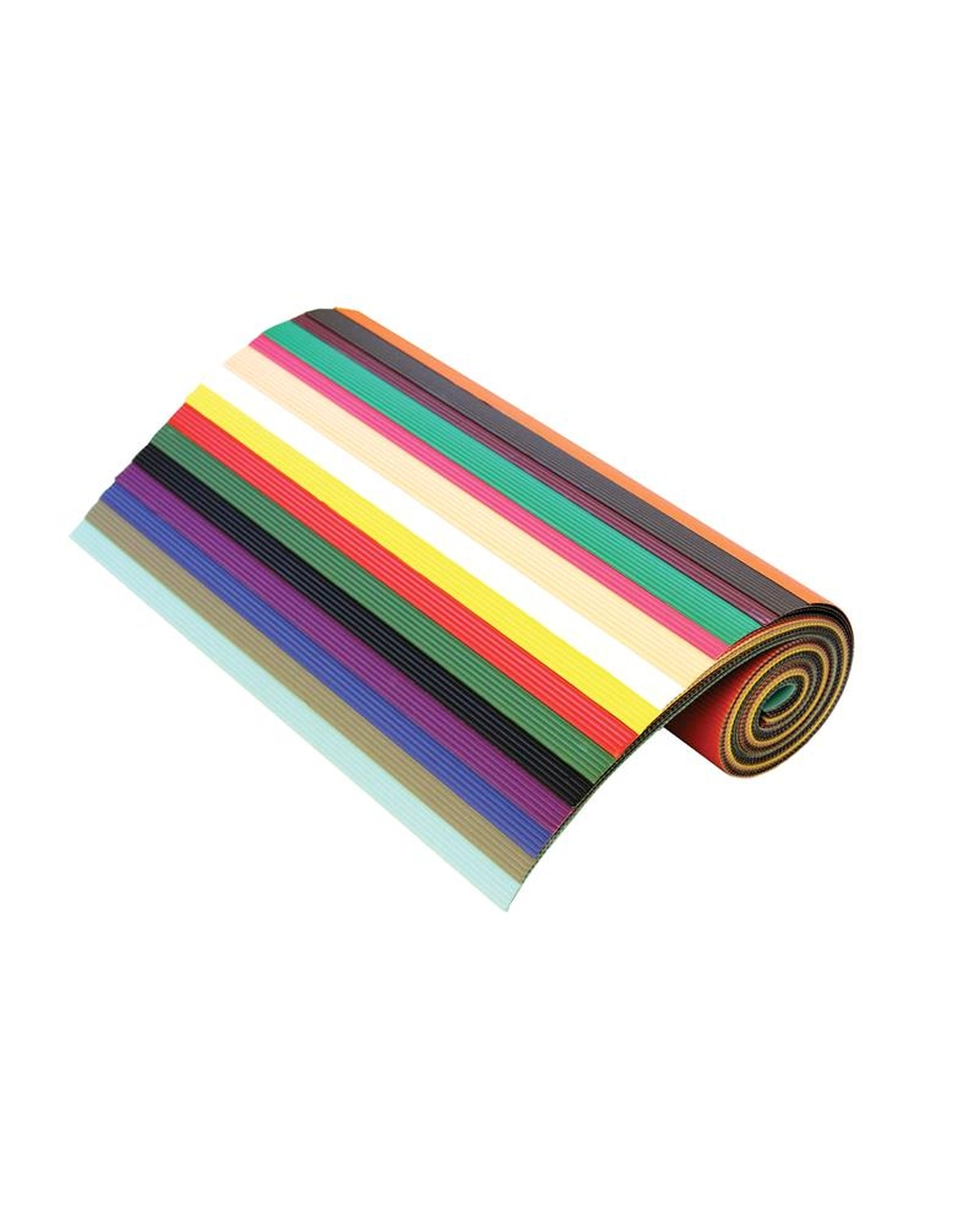 Corrugated Board Rolls, Assorted Colours 500x700mm