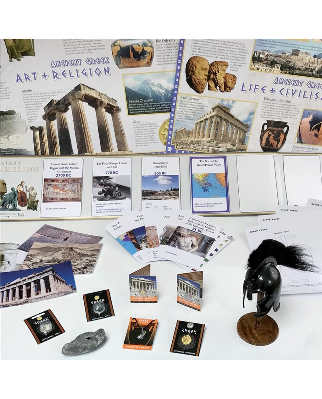 Ancient Greek Artefacts Collection