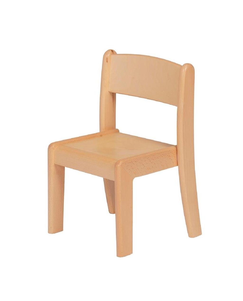 Beech Stacking Chair 260MM