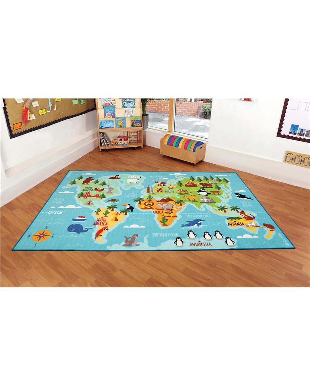 Animals & Places Of The World Carpet