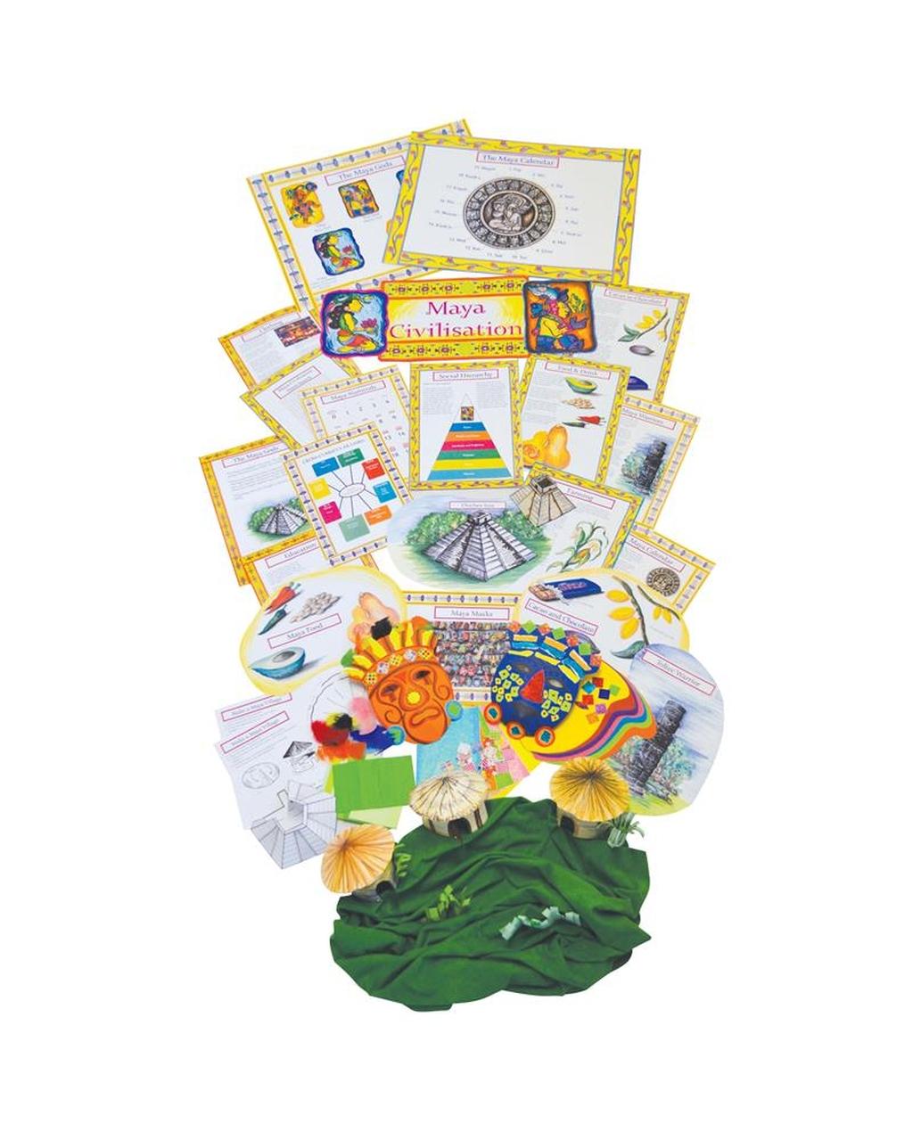 Maya Civilisation History Display Pack
