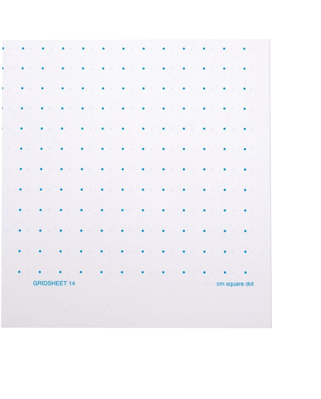A4 10mm Square Dot Grid Sheets