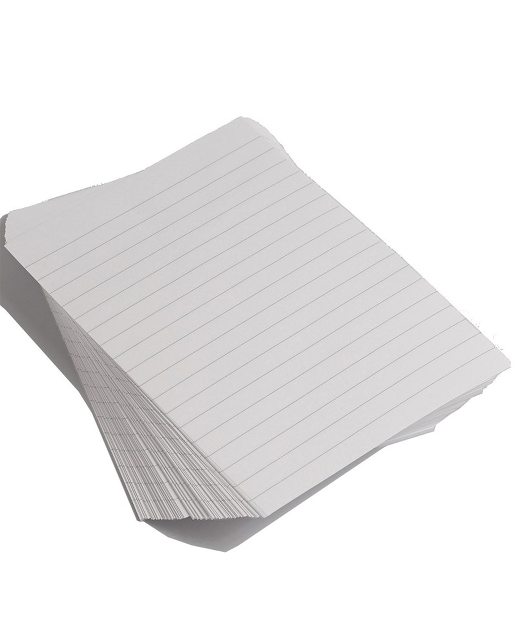 A4 Exercise Paper Unpunched, 12mm Ruled