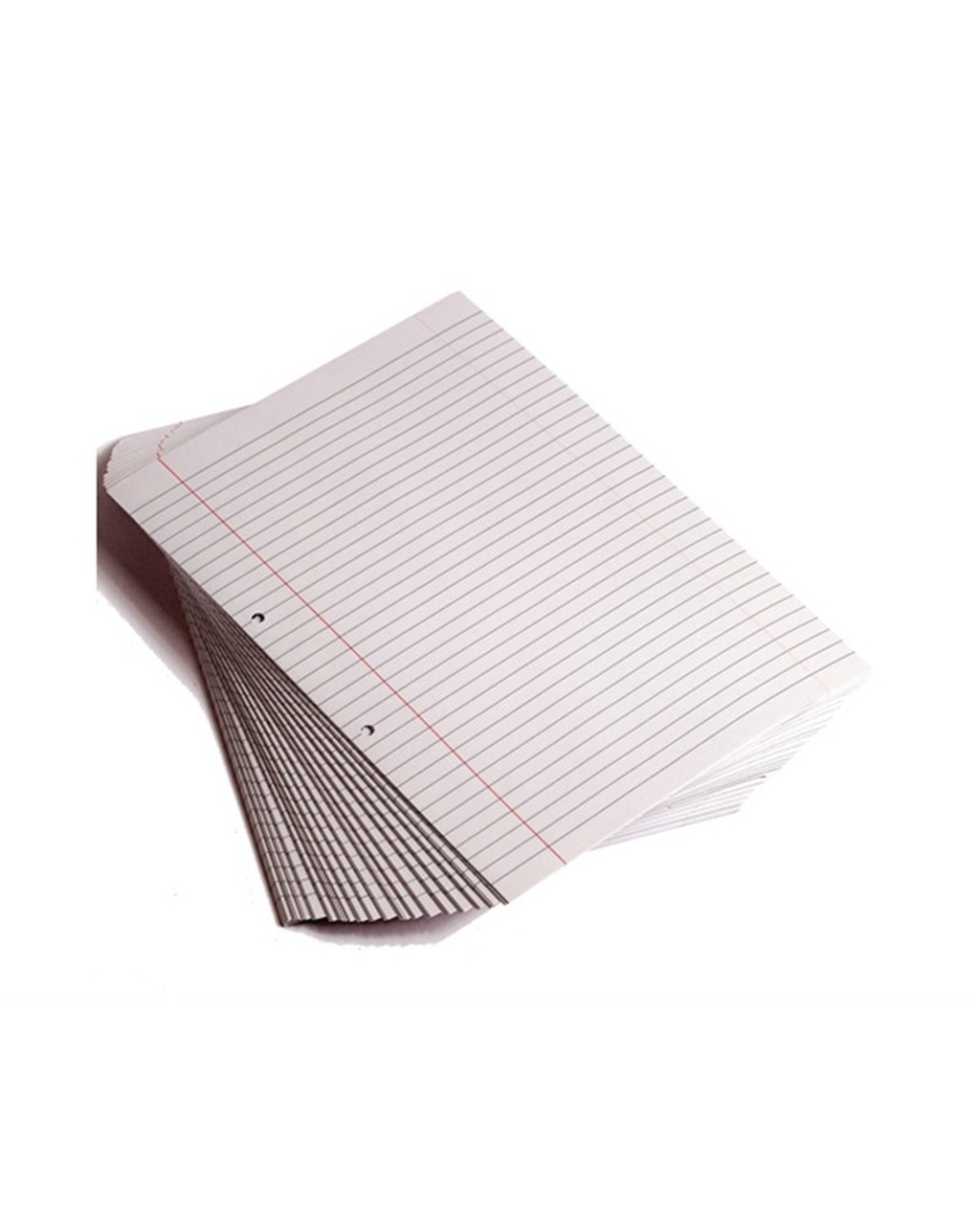 9 x 7 inch Exercise Paper Punched, 8mm Ruled & Margin
