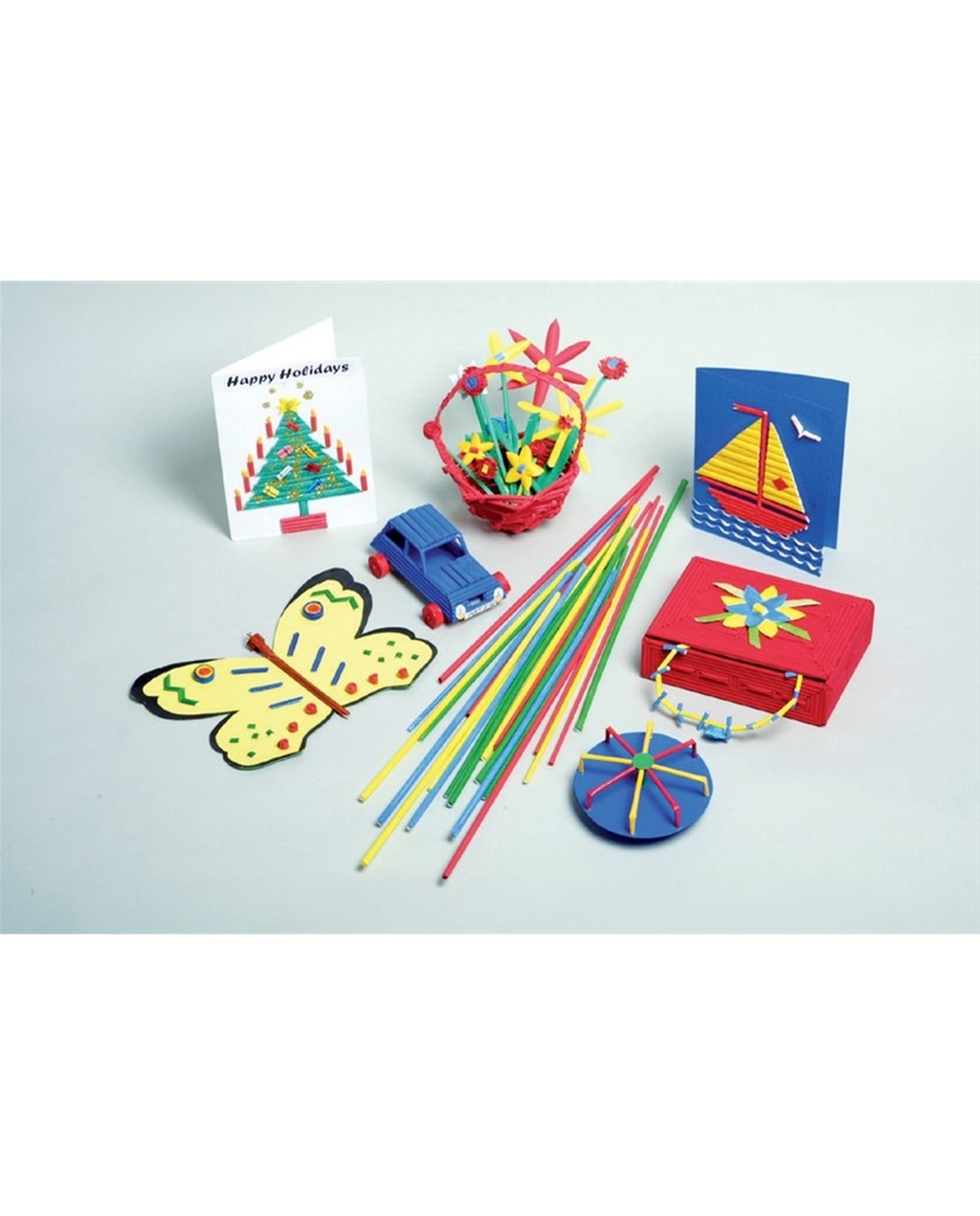 Artstraws Kit - Coloured