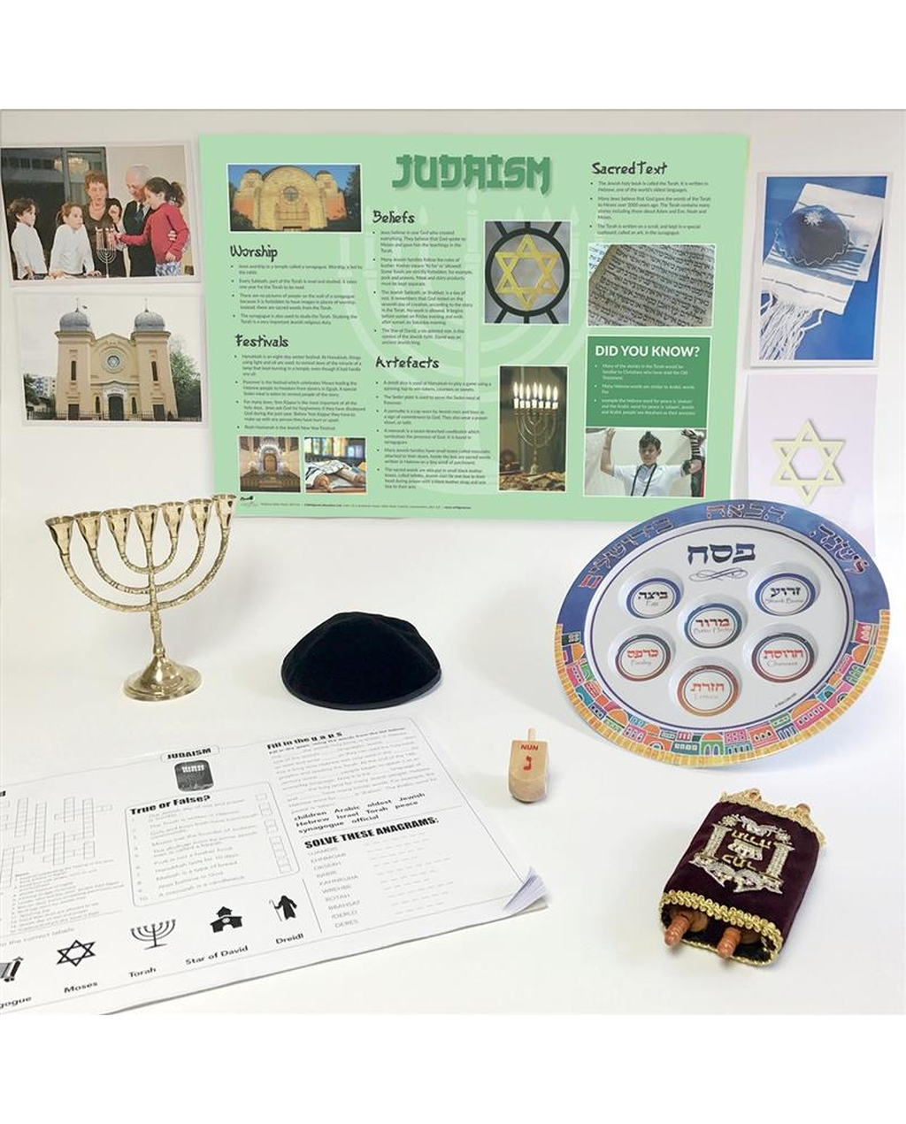 Judaism Artefacts Pack