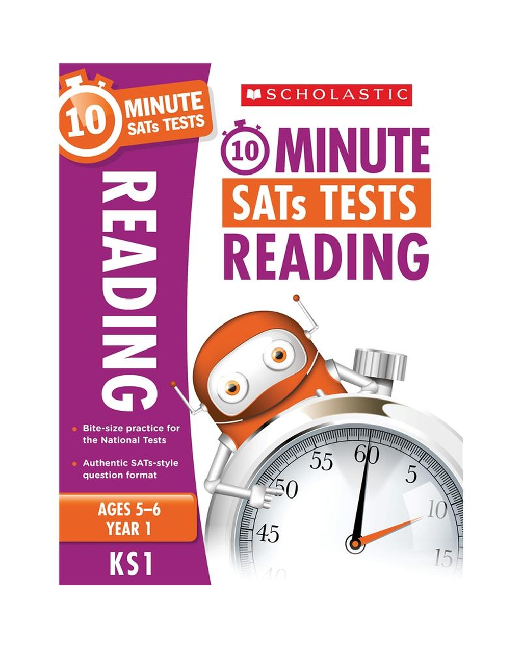 10-Minute SATs Tests: Reading - Year 1 x 06
