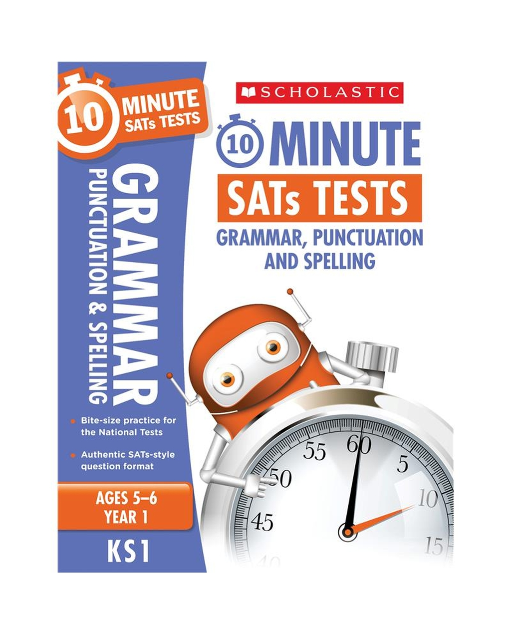10-Minute SATs Tests: Grammar, Punctuation and Spelling - Year 1 x 06