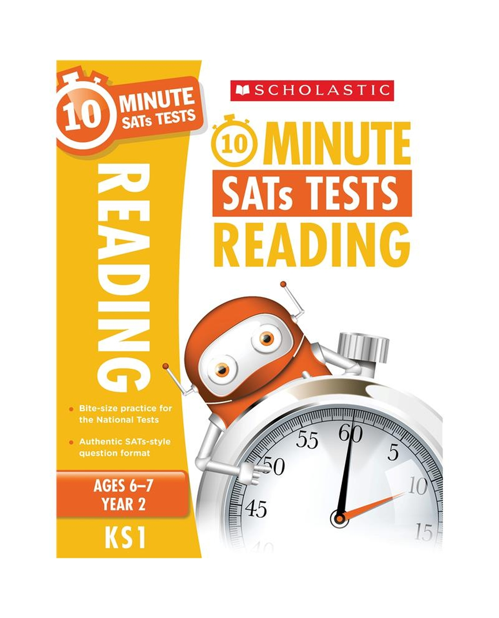 10-Minute SATs Tests: Reading - Year 2