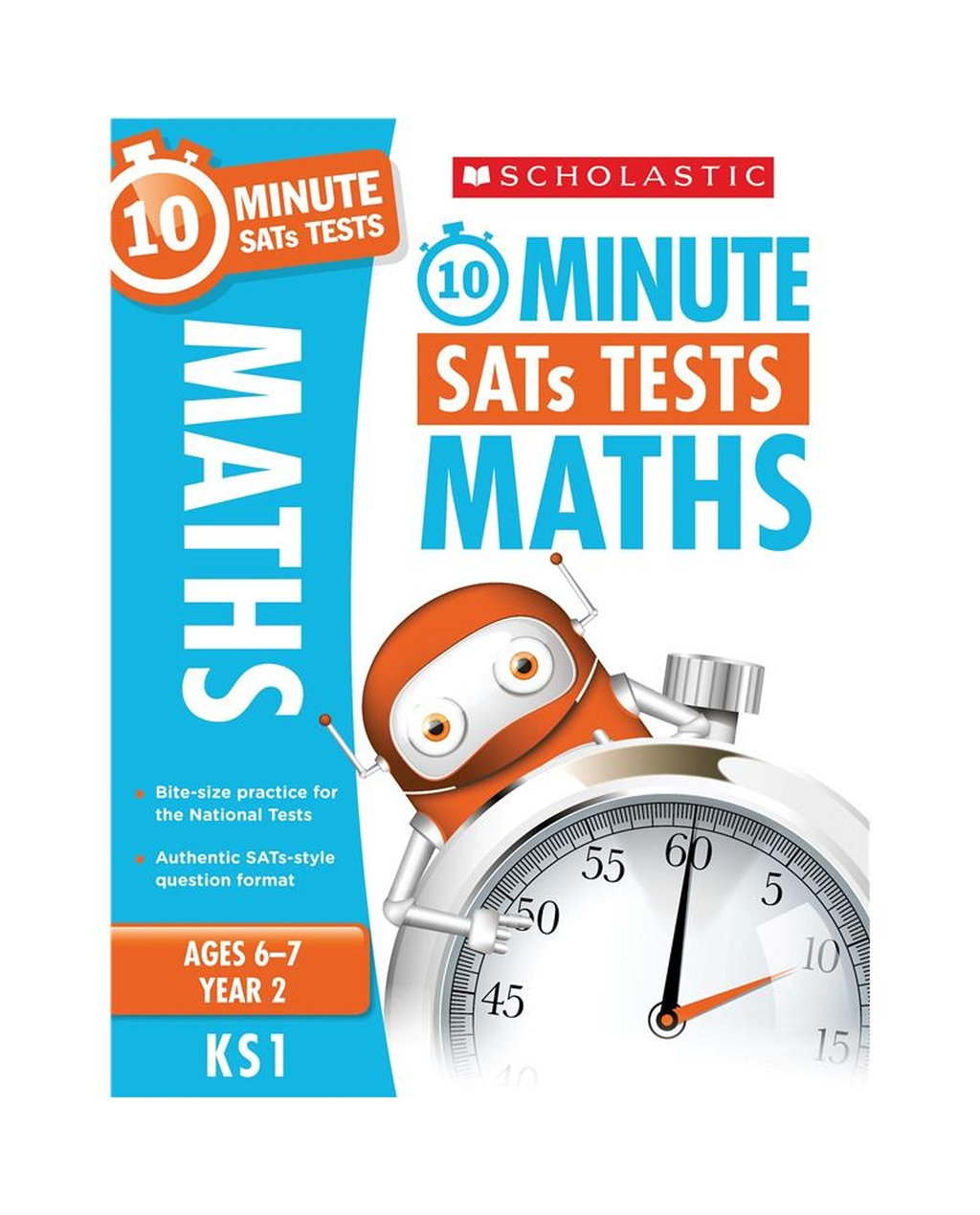 10-Minute SATs Tests: Maths - Year 2 x 06