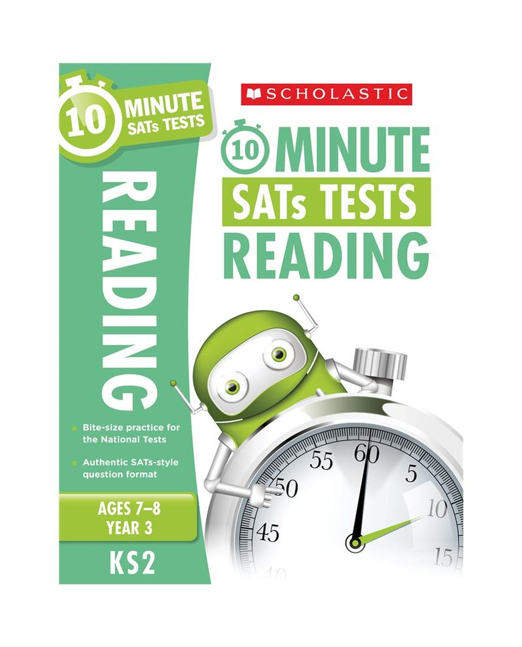 10-Minute SATs Tests: Reading - Year 3 x 30