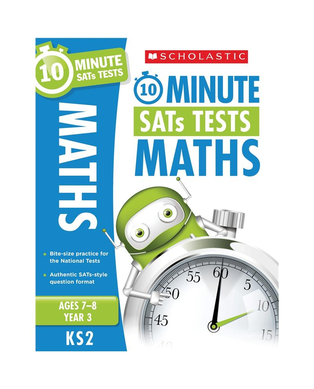 10-Minute SATs Tests: Maths - Year 3 x 30