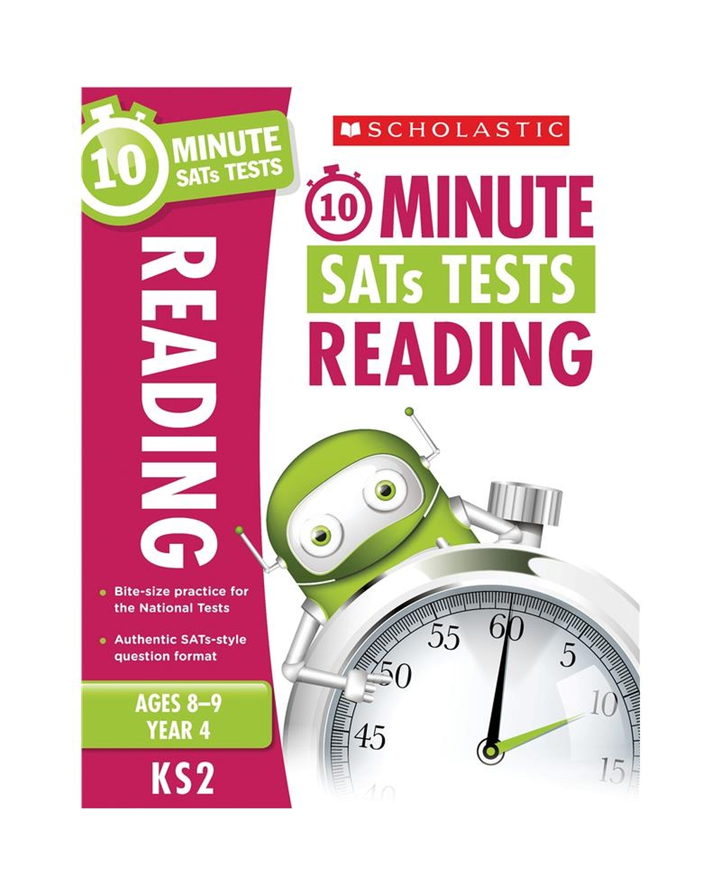 10-Minute SATs Tests: Reading - Year 4