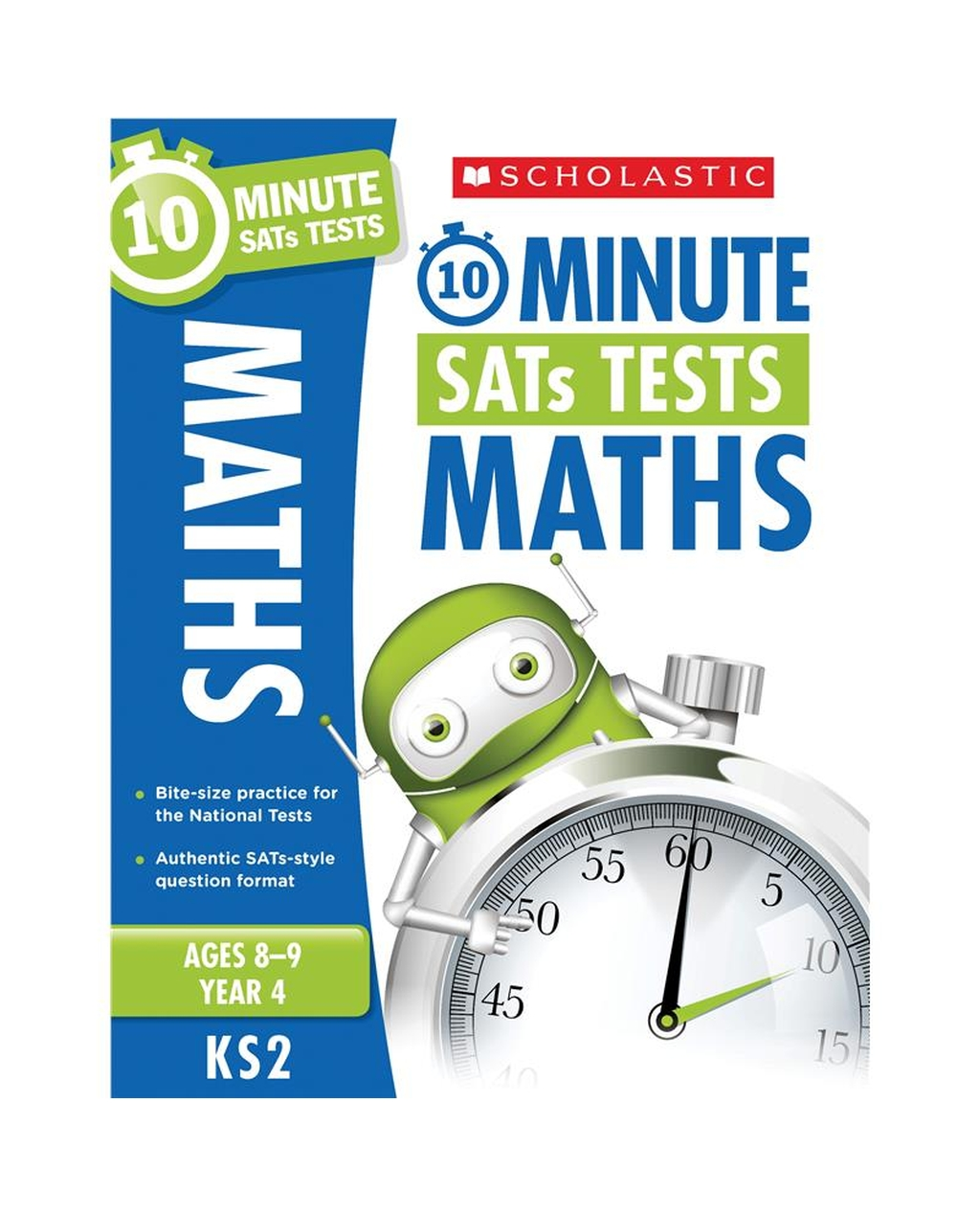 10-Minute SATs Tests: Maths - Year 4 x 30