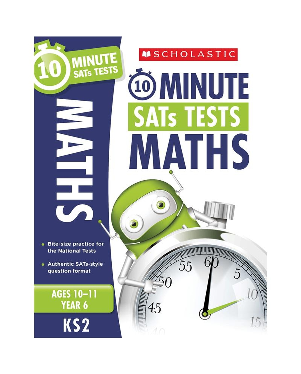 10-Minute SATs Tests: Maths - Year 6 x 30