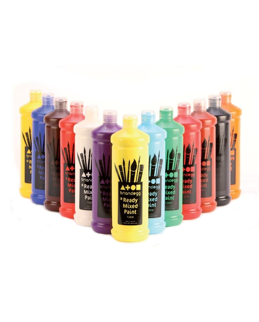 Ready Mixed Paint - Orange 600ml