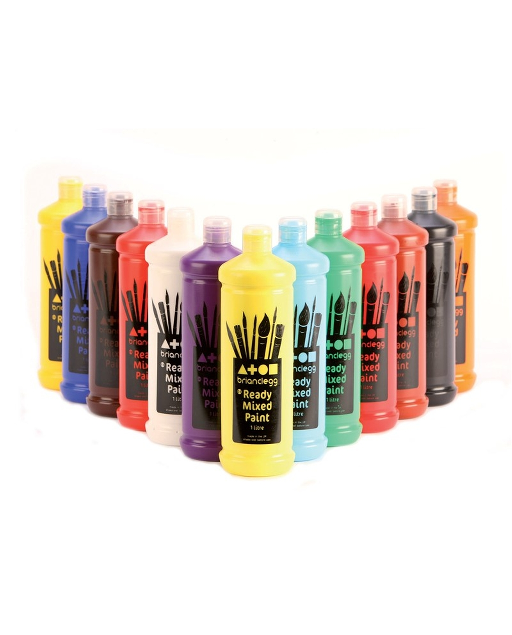 Ready Mixed Paint - Leaf Green 600ml