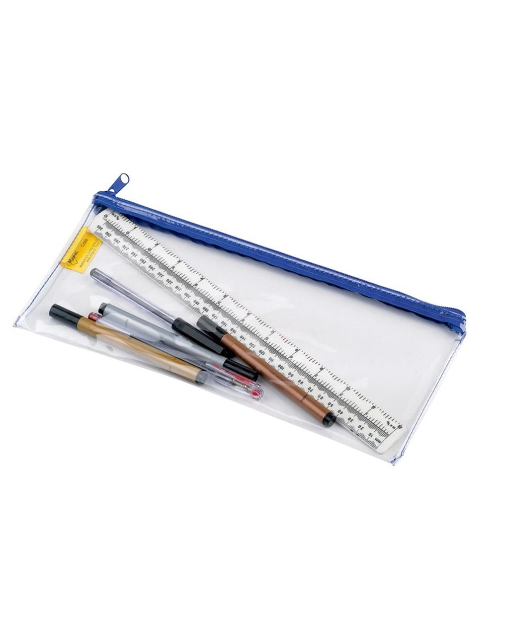 Clear Pencil Case 33 x 12.5cm