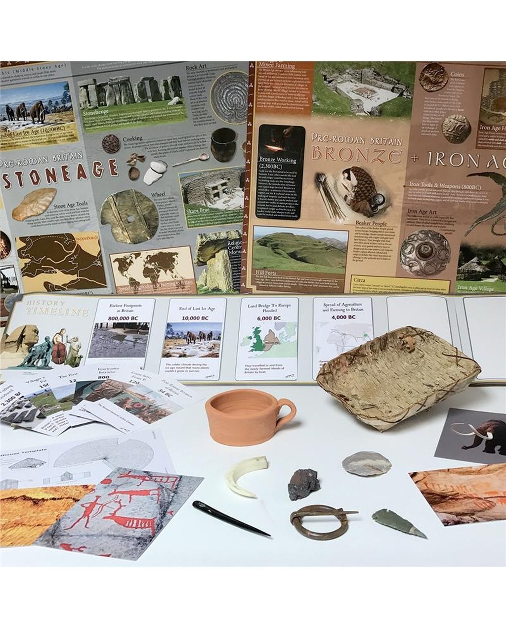 Stone Age Artefacts Collection