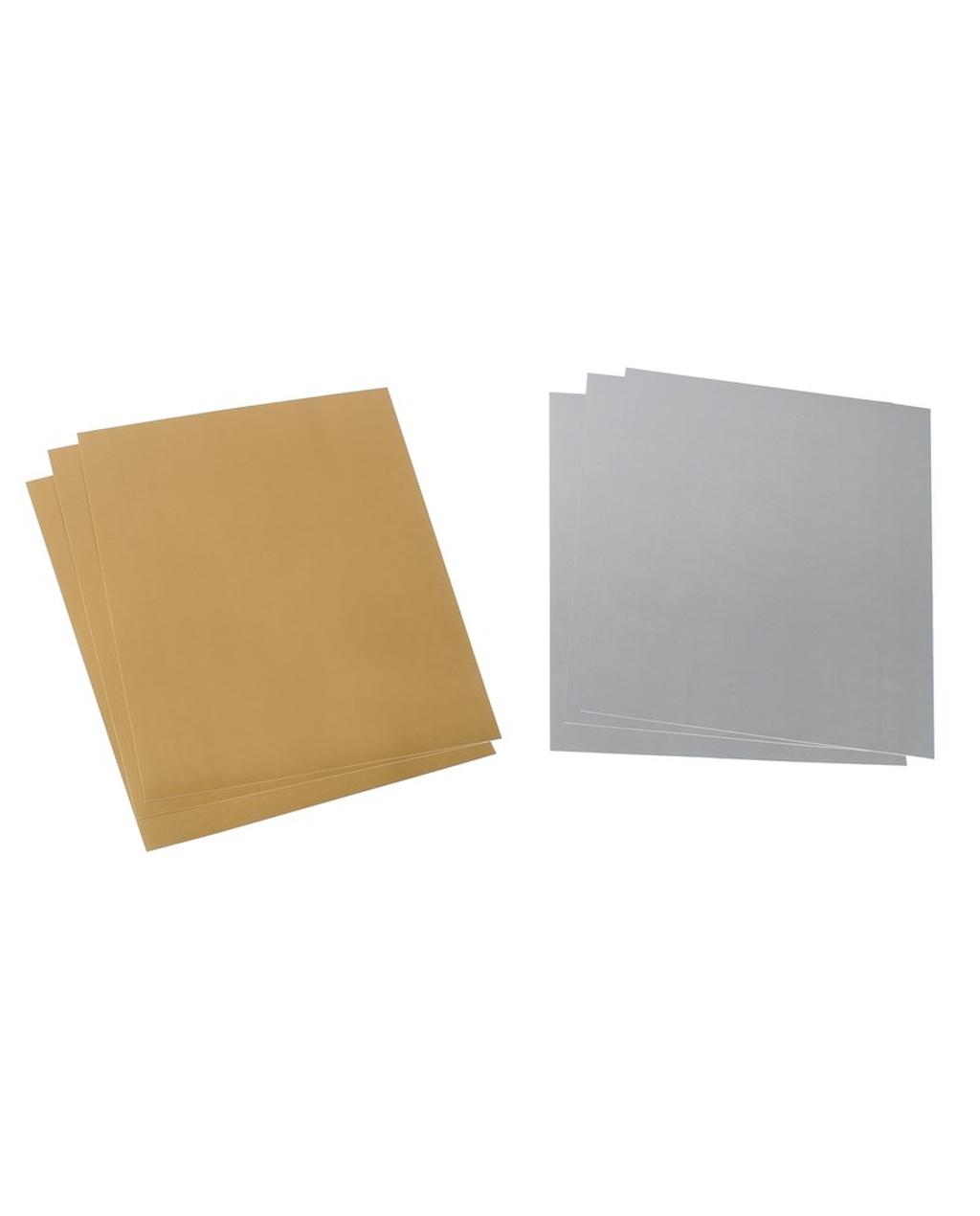 A4 Metallic Card - Silver 225gsm