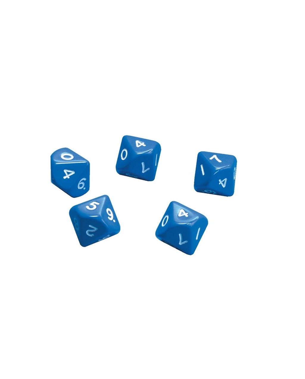 10 Sided Numbered Dice