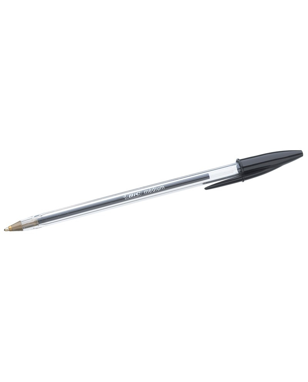 BIC Cristal Original Medium Ballpoint Pen -  Black