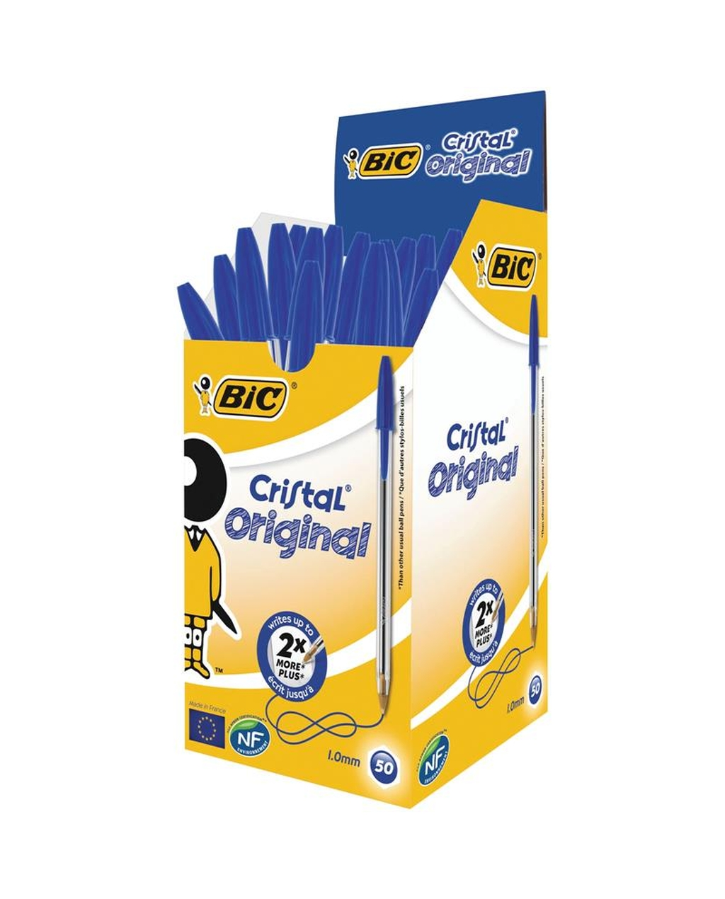 BIC Cristal Original Medium Ballpoint Pen -  Blue