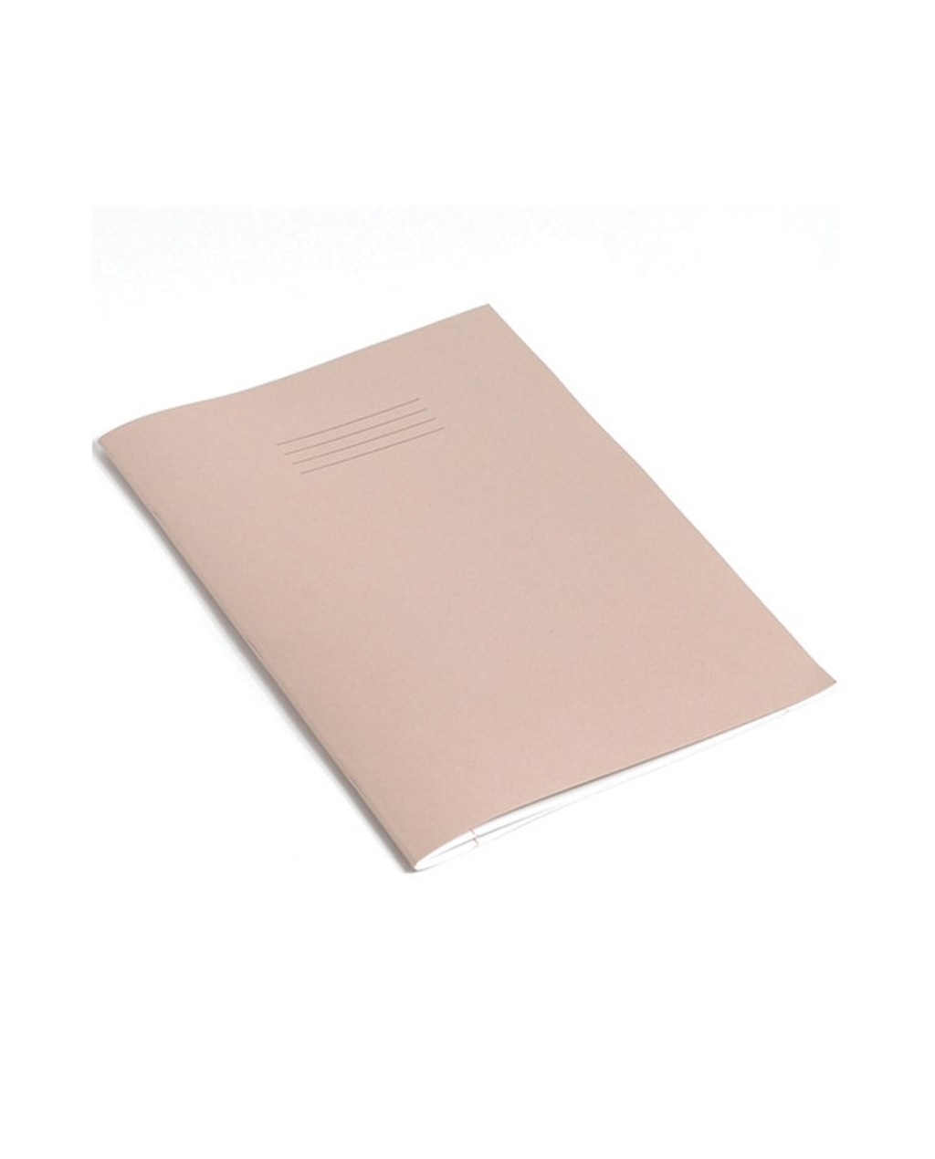 Exercise Book A4 (297 x 210mm) Buff Cover Plain - No Ruling 64 Pages