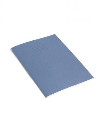 Exercise Book A4 (297 x 210mm) Light Blue Cover Plain - No Ruling 64 Pages