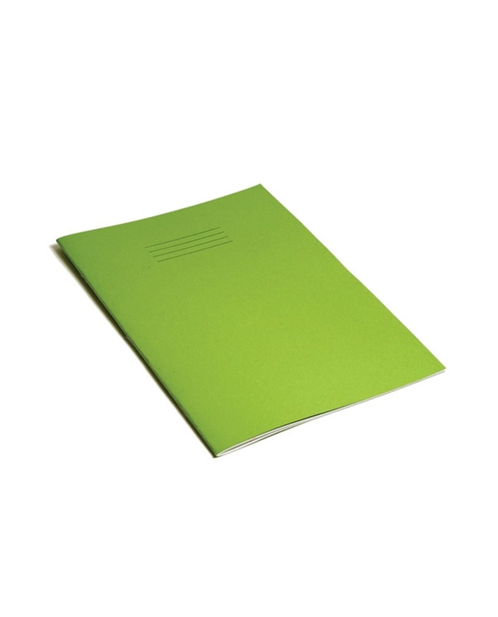 Exercise Book A4 (297 x 210mm) Light Green Cover Plain - No Ruling 64 Pages