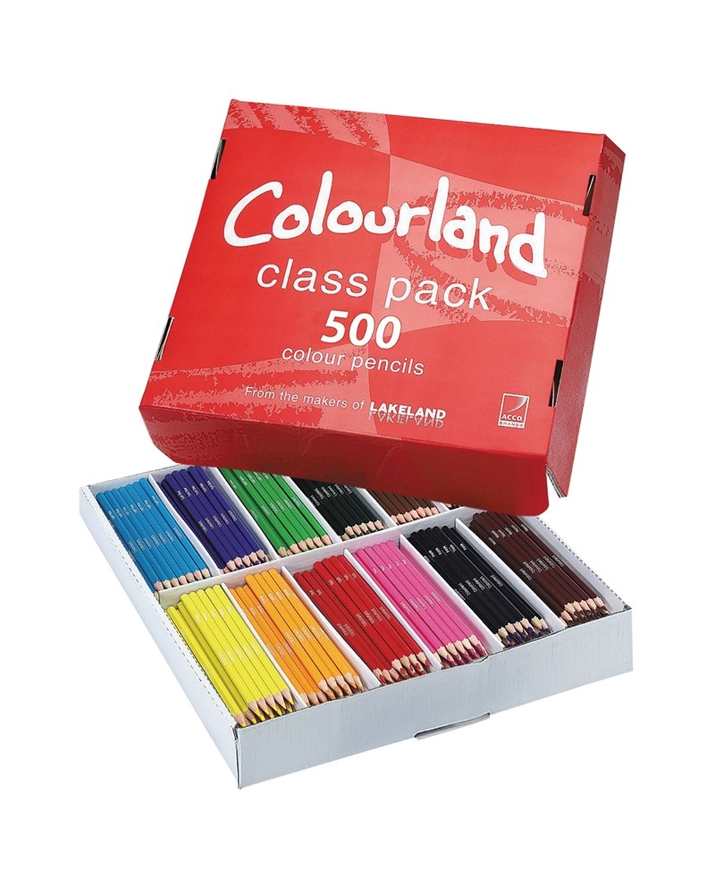 Coloured Pencils - Pack of 500