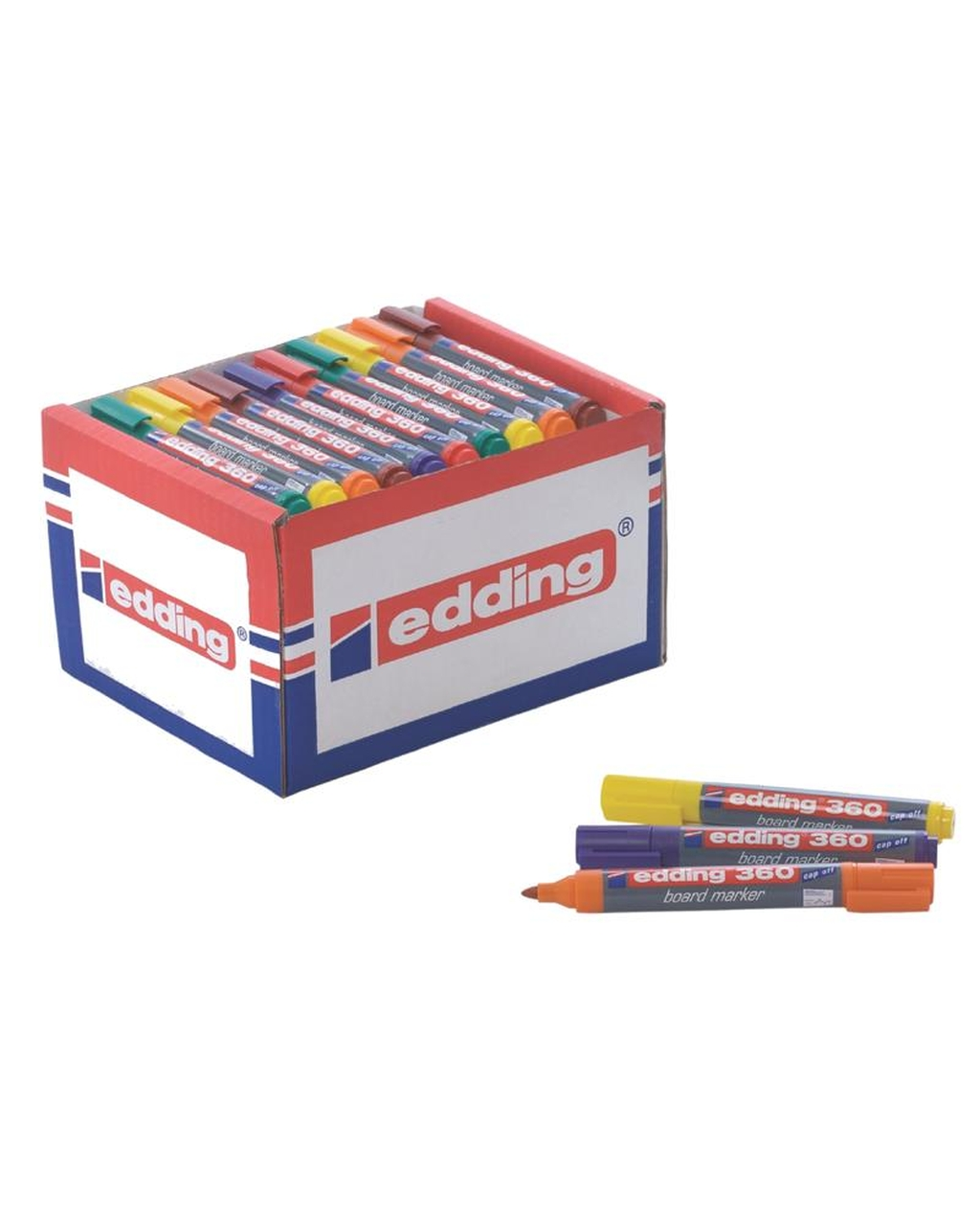 Edding 360 Whiteboard Marker Classpack -          Assorted Colours